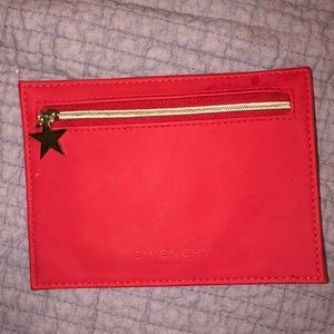 BRAND NEW GIVENCHY RED COIN PURSE!  ❤️❤️❤️